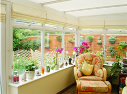 Sheer Roman Blinds